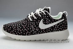 new style 72543 c9bce Womens Nike Roshe Run Pattern Black Flowers Shoes TopDeals, Price   78.94 -  Adidas Shoes,Adidas Nmd,Superstar,Originals