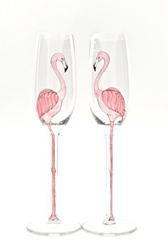 Flamingos are having a bit of a moment right now and with good reason. They are simultaneously elegant and awkward- the supermodels of the bird
