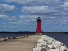 """""""Manistique Lighthouse"""" by Brian, via 500px."""