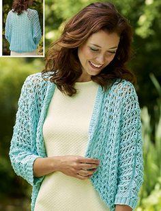 Women's shrug knitting pattern