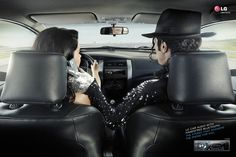 LG car audio with handsfree bluetooth. The stereo that answers the phone for you. - Advertising Agency: Y, São Paulo, Brazil