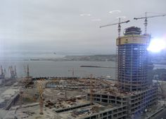 Keep your eyes peeled. Soon this will be Baku's luxury shopping quarter.