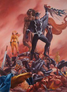 Black Bolt & Inhumans by John Watson