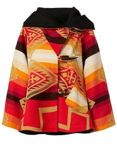 Lindsey Thornburg Spirit Guide Pendleton Blanket Coat: Lindsey Thornburg teams…