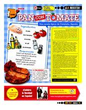 ¡La receta!: Pan con tomate
