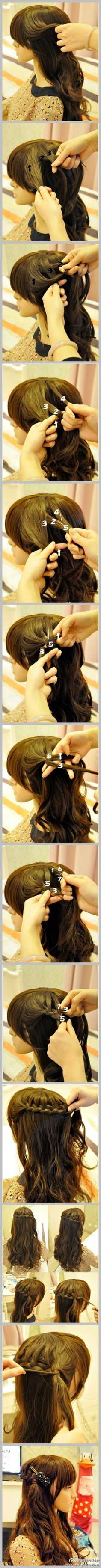 Find best Homemade Hair Care Tips and Hair styling without damage your Hairs. Check out our damaged hair guide and best Homemade Hair Care Tips Love Hair, Great Hair, Gorgeous Hair, Pretty Hairstyles, Girl Hairstyles, Braided Hairstyles, Tips Belleza, Hair Day, Hair Hacks