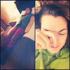 Eve Hazelton (@eve_hazelton) | Day 169:This elf has been up & on the go since 1am and is exhausted! This sleepy elf is gonna crash right about....now!! #myfancyyear #myfaceisamess #exhausted | Intagme - The Best Instagram Widget