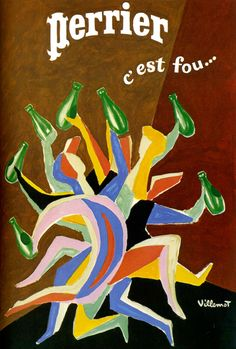 Perrier c'est fou - L'affiche française