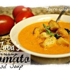 If you are in the mood for some delicious soup, then try this copycat Zupa's Tomato Basil Soup Recipe! This tomato basil recipe is as good as Zupa's. Basil Recipes, Soup Recipes, Salad Recipes, Recipies, Dinner Recipes, Pureed Soup, Tomato Basil Soup, Restaurant Recipes, Copycat Recipes