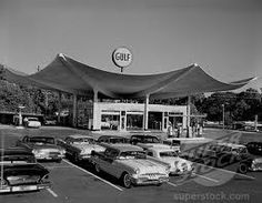 old gas station at lenox