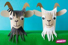 Animal Crafts For Preschoolers - K Crafts, Farm Crafts, Preschool Crafts, Arts And Crafts, Recycled Crafts, Toilet Roll Craft, Toilet Paper Roll Crafts, Cardboard Crafts, Farm Animal Crafts