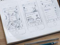 Quality Wireframes Inspiration — Muzli -Design Inspiration — Medium