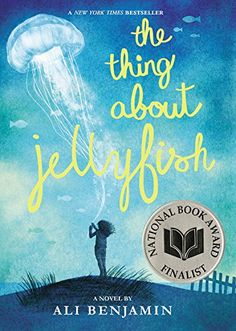 Great Middle Grade Books to Give As Gifts – 15 Recommendations for Your Students or Your Classroom Library. The Thing About Jellyfish includes science stuff like scientific methods. Ya Books, Books To Read, Teen Books, Good Books For Tweens, Middle School Books, Realistic Fiction, National Book Award, 12th Book, It Goes On