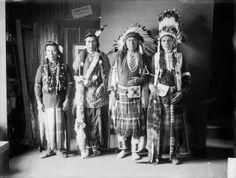 Andrew Whitman, Alikot (aka Frog), Joseph II, Peo-peo-ta-lakt - Nez Perce – 1903 no location