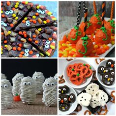 Are you looking for some fun and festive Halloween treats to make with your family? If so these 20 are a great place to start.
