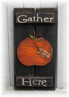 Primitive Wood Pumpkin Patterns | Country Primitive Gatherings | Gifts, Decor, Wood Signs & More