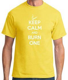 TshirtsXL Men's Burn One Graphic T-Shirt, 4X, Yellow TshirtsXL http://www.amazon.com/dp/B00K99H8ZM/ref=cm_sw_r_pi_dp_919wwb1GG27MA