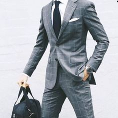 Look sharp while wearing a suit with @ tuckedtrunks.com #menswear #menwithclass #suitup #suitedup