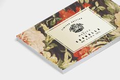 #business cards with a feminine #floral edge - something a bit different by MONICA on Behance