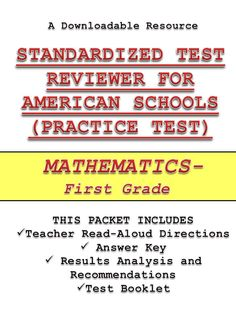 Start preparing your students for Stanford 10 practice tests and other local, state, and national standardized tests with the help of this and other review materials for kindergarten through second grade. More than 1000 copies have already been sold and still counting. Click the following link to see the list of review packets for your grade level.http://sirarthurdeesonlineteachingresources.com/