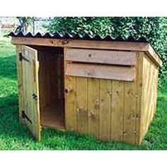Duck & Goose House;to keep the waterfowl safe at night then come morning all you have to do is open the door so they can start their day too