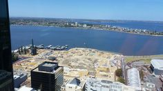 Auditing St Georges Tce Perth looking across the Swan River