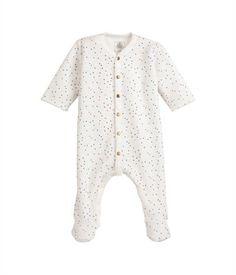 b55969559fc5b Dors bien bébé garçon en velours imprimé étoiles blanc Lait   lot Multico -  Petit Bateau