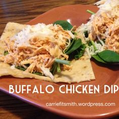 Buffalo Chicken Dip!  This is easy, healthy, clean, and 21 Day Fix approved!  My kind of recipe! :)
