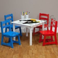 Kid Table And Chair Set Drawing Board And Storage In Table Bedroom  Furniture NEW