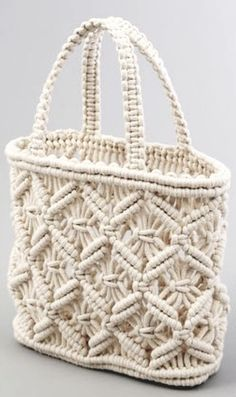 Handmade Handbags, Handmade Bags, Macrame Purse, Macrame Projects, Diy Accessories, Anklets, Handicraft, Straw Bag, Purses And Bags