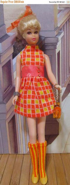ON SALE Vintage Barbie Francie Doll TNT Bendable by DressMeDoll