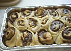 Cinnamon Rolls recipe - These are my families favorite breakfast treat! Rich egg dough, sweet and spicy filling and lots of cream cheese frosting. #breakfast #brunch #cinnamonrolls #frosting Cream Cheese Recipes, Cinnamon Cream Cheeses, Cream Cheese Frosting, Best Bread Recipe, Roll Recipe, Bread Recipes, December 4, No Bake Treats, Sweet And Spicy