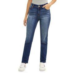 3e4cdc39d EV1 - Maddy Straight Leg Jean Women's - Walmart.com. Woman SmileEllen  DegeneresCrew NeckSize ...