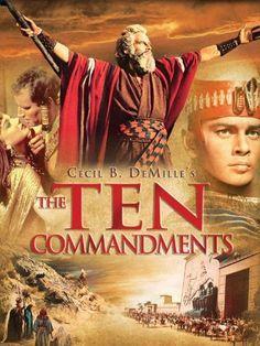 Amazon.com: The Ten Commandments: Charlton Heston, Yul Brynner, Anne Baxter, Edward G. Robinson: Movies & TV