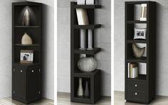 Estanterias libreros on pinterest bookshelves storage - Libreros de madera modernos ...