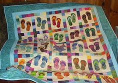 flip flop quilt (2) | by piecefulchaos
