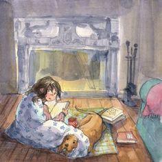 Artist: Mai S Kemble via penguinandfish.blogspot.com