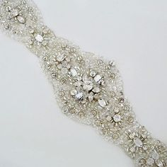 Fiore Couture Bridal Belts | Sparkling Ovals Bridal Belt