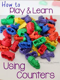 Still Playing School: Transportation Math: Sorting, Counting, and Patterning with Vehicles Preschool Lessons, Preschool Classroom, Kindergarten Math, Classroom Activities, Preschool Prep, Toddler Classroom, Number Activities, Number Games, Educational Activities