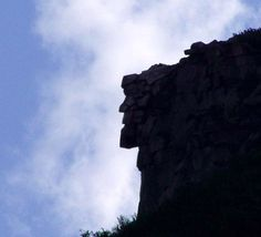 Old Man of the Mountain. NH.