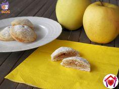 Biscotti vegani con ripieno di mela