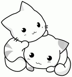 You Can View And Print Cute Cat Coloring Pages As Well Similar