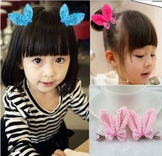 >> Click to Buy << 6137 elastic band bracelet summer style hair accessories girl headband clips gum cat ear rabbit bow bandana ornaments #Affiliate