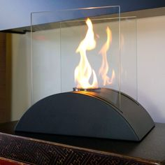Nu-Flame Estro Table Top Ethanol Fireplace #modernblaze