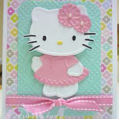 138 best hello kitty cards images on pinterest in 2018 cricut this was made with the big shotbut would the hello kitty cricut cartridge work m4hsunfo
