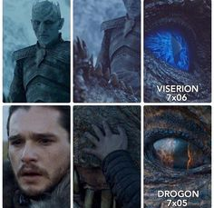 Ice and Fire, Game of Thrones.