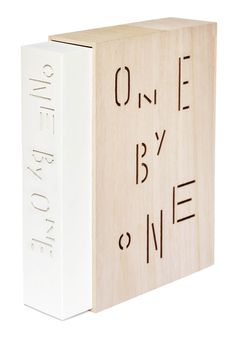 """One by One"" is a book on global graphic designers that showcases country by country starting with the letter ""A"" for Argentina and ending with the letter ""V"" for Venezuela. It's an encyclopedia of selected graphic designer representing 47 countries, 477 designer, and 3477 pieces of work. Each designer is allocated one page, resulting in a total of 643 pages in this well-crafted and wonderfully finished book."