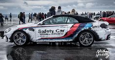Bmw m6 safety car  www.nathanhaetty.comCovering wrapping monaco