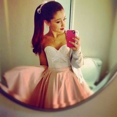 Hi Guys! I need your help I'm Doug a fall festival and I don't know if I should be Arianna Grande or Eleanor Calder I want to do my hair red  coz it would be cool but I also want to be El so which should I do Pleaseee comment