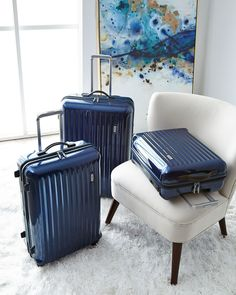 Bric's Riccione Black Carry-On Spinner Luggage